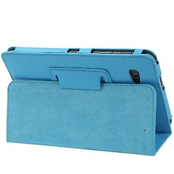 Leather Case with Holder for Galaxy Tab 2 (7.0) / P3100(Blue)