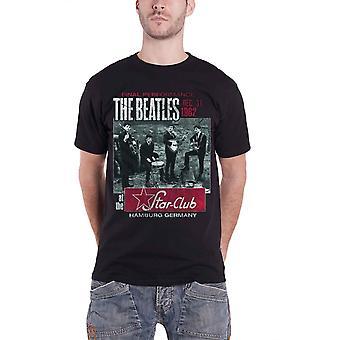 Beatles T-paita Final Performance Star Club juliste virallinen Mens Black