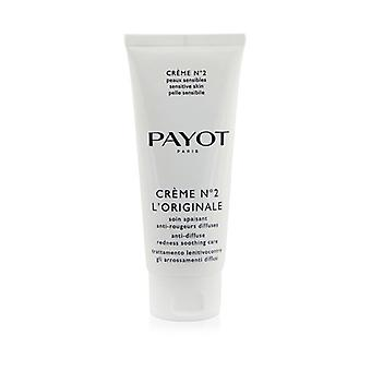 Payot Creme N°2 L'Originale Anti-Diffuse Redness Rauhoittava hoito (Salon koko) 100ml / 3.3oz