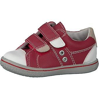 RICOSTA Nippy Double Velcro Fashion Trainer In Red