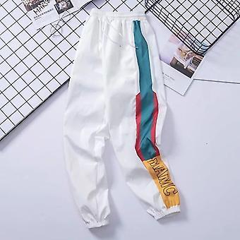Hip Hop Streetwear Nohavice, Muži Príležitostné Nákladné Nohavice, Nohavice Elastický pás