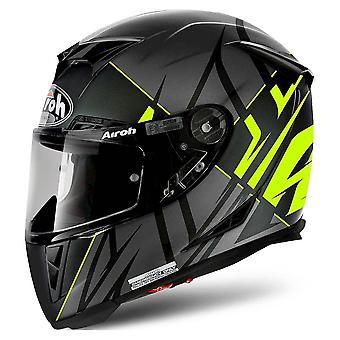 Airoh GP 500 Full Face Helm - Sectoren Geel Mat