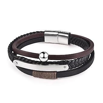 Mænd armbånd Vintage, ægte læder krog armbånd, armbånd armbånd smykker