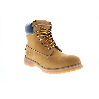 Andrew Marc Upshaw  Mens Brown Synthetic Casual Dress Boots