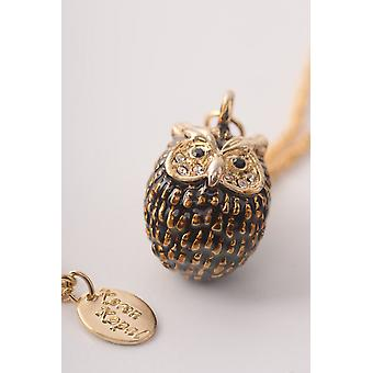 Owl Charm Pendant Necklace