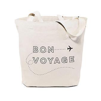 Bon Voyage puuvilla kangas laukku