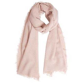 Louche Womens Edie lightweight Scarf Pink
