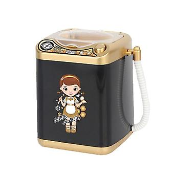 Mini Electric Washing Machine, Pretend Role Play, Makeup Brush Cleaner Device,