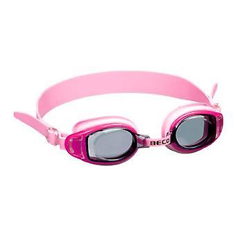 BECO Kids Acapulco Swim Goggles - Tinted Lens- Pink/Purple