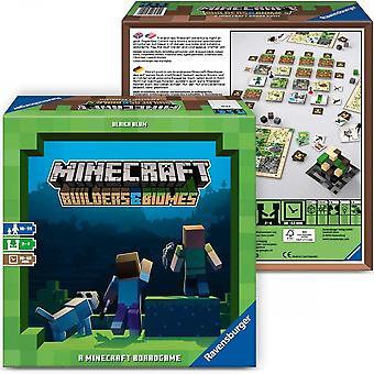 Ravensburger Minecraft Builders & Biomes Board Game Edad 10 + (Juego base)