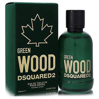 Dsquared2 Green Wood Eau De Toilette Spray By Dsquared2 3.4 oz Eau De Toilette Spray