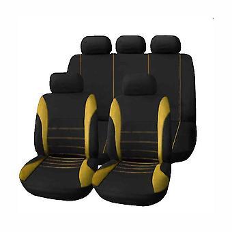 9pcs universele autostoel cover doek kunst auto interieur decoratie