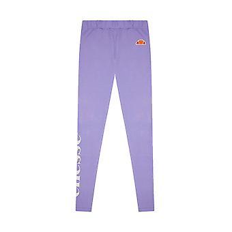 Ellesse Heritage Cabio Crianças Junior Girls Legging Tight Purple