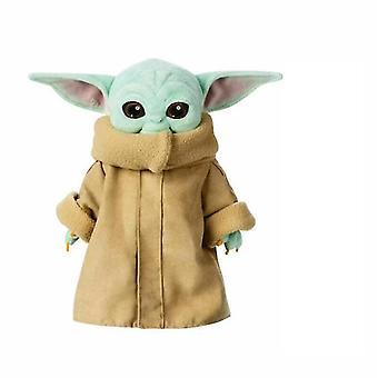 Yoda Plush Toy The Mandalorian Force Awakens Master Gift Doll