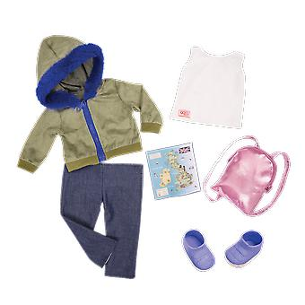 Our generation warm wayfarer deluxe outfit