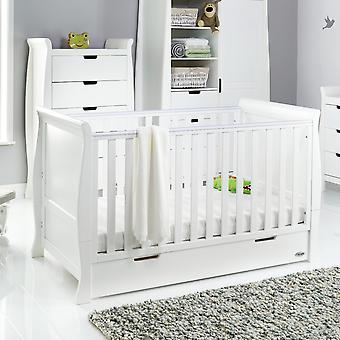 أوبابي ستامفورد كلاسيك سلي كوت سرير - أبيض
