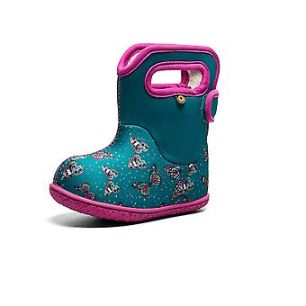 Baby bogs butterflies teal thermal waterproof boots