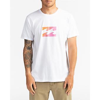 Billabong menn t-skjorte ~ Team bølge hvite