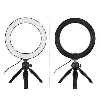 Portable 8.6 Inch LED Ring Light Lamp