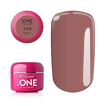 Base one - Color - UV Gel - Smoky Pink - 11C - 5 gram