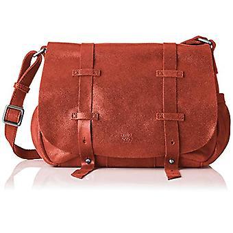 Mila Louise Bess Spark, crossbody bag, Orange (Orange (Paprika Red)), 9x20x23 cm (W x H x L)