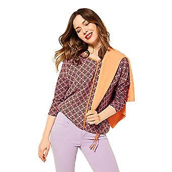 Street One 316016 T-Shirt, Tangerine Shiny, 40 Woman