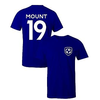 Mason montere 19 klub stil spiller fodbold t-shirt