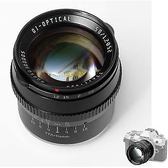 50 mm F1.2 Lente APS-C MF kompatibel mit Sony con montura E A5000 A5100 A6000 A6100 A6300 A6400