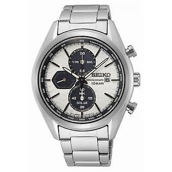 Reloj para hombre Seiko SSC769P1 - Correa de acero gris