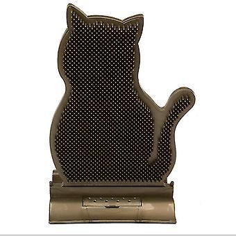 القهوة ثابتة الباب التماس القط فرك الجهاز، وإزالة الشعر ومكافحة حكة فرشاة التدليك، القط فرك فرشاة أز6628
