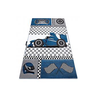 البساط PETIT سباق الفورمولا 1 بوليد السيارات الأزرق