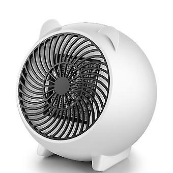 Uk plug valkoinen kotitaloustoimiston pöytälämmitin, kannettava mini kuuma tuuletin az5701