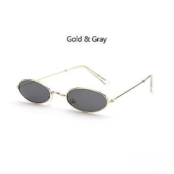 Small Oval Sunglasses Okulary Vintage Shades Sun Glasses