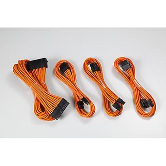 Phanteks Förlängning Kabel Combo Kit - Orange