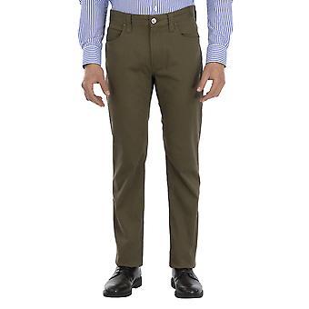 Armani Jeans Men Pants Straight leg Ankle length  Brown