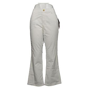 IMAN Global Chic Women's Petite Jeans Bootcut White 734928100