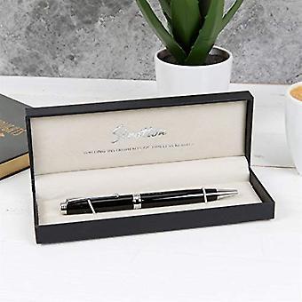 Statton Ballpoint Pen - Black