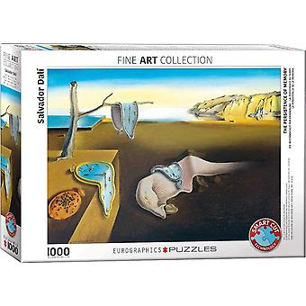 Eurographics The Persistence of Memory, Dali Jigsaw Puzzle (1000 Pieces)
