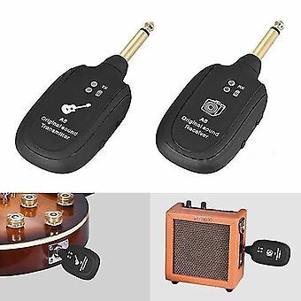 Original Sound Receiver Uhf Guitar Wireless System Transmitter Set