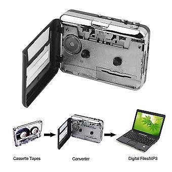 Kazeta Usb na pc a Převaděč disků Mp3 zachycuje digitální audio hudební přehrávač