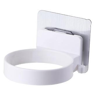Bathroom Shelf Hair Dryer Holder, Bathroom Organizer Storage Shelf Stand
