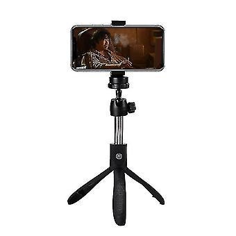 Pliable sans fil Bluetooth Selfie Stick £? Trépied portable extensible (rouge)