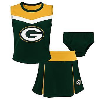 NFL Girls Cheerleader Set - Green Bay Packers