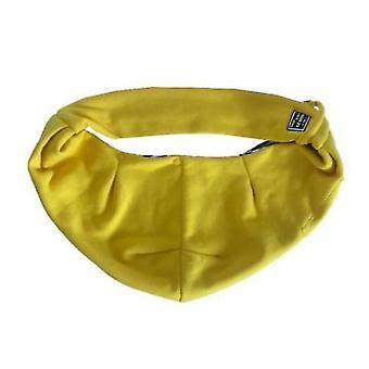 Pet Cotton Shoulder Bag Outing Messenger Bag Adjustable Padded Shoulder Strap(Yellow)