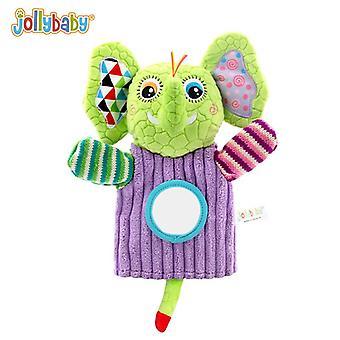 Finger puppets baby comforter toys 0-1 anno genitore-bambino ragdoll peluche giocattolo