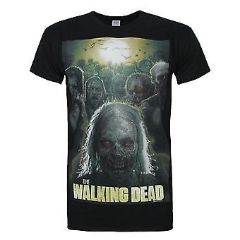 Walking Dead Official Mens Poster T-Shirt