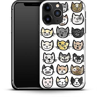 28 Katzen nach abtrierbaren Designs Smartphone Premium Case Apple iPhone 12 Mini