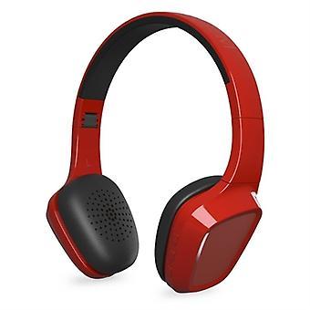Bluetooth headset med mikrofon energi sistem 428359 300 mAh rød