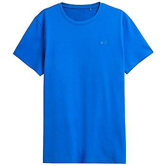 4F TSM352 NOSH4TSM352NIEBIESKI   men t-shirt