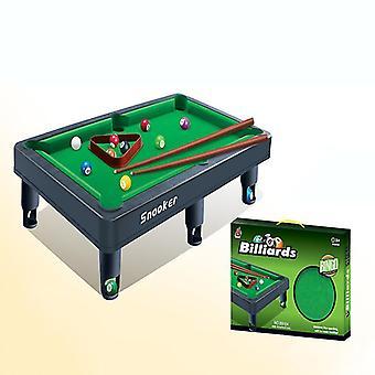 Jucării pentru copii, mini masă pool set, biliard joc include bile de joc (17.5 * 9.6 * 6.1in)